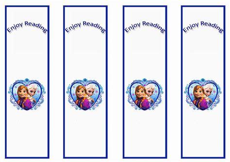 printable frozen images frozen bookmarks birthday printable