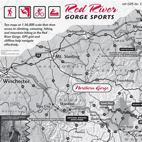 river gorge map river gorge sports map