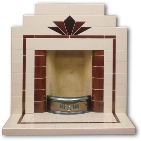 Deco Fireplace Tiles by Deco Fireplace Deco Nouveau