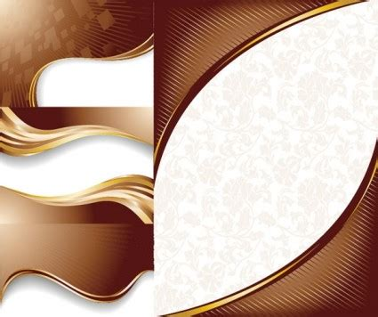 wallpaper line coklat chocolate dynamic lines of the background vector vector