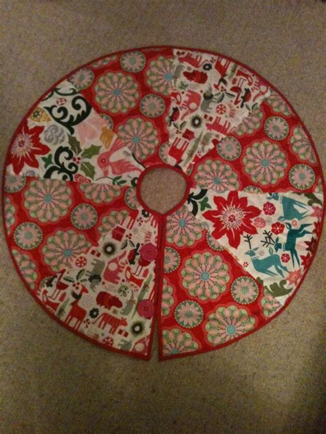 Patchwork Tree Skirt Pattern - citrus simply quilted patchwork tree skirt