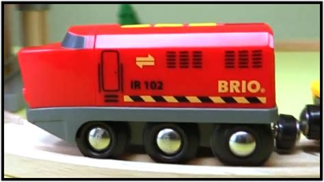 brio railway trains car garage mega demo kid s