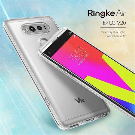 Diskon Ringke Lg V20 Air Gold Terlaris lg v20 ringke 174 air lightweight thin transparent soft