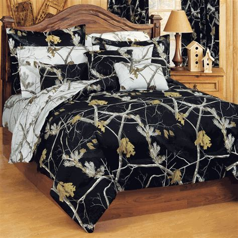 realtree camo bedding camouflage comforter sets queen size realtree ap black