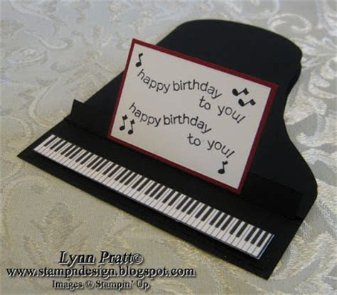 Piano Greeting Card Templates by St N Design Piano Cards