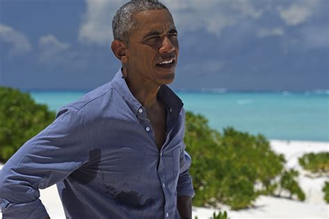 obama island barack obama tucked away in south pacific working on