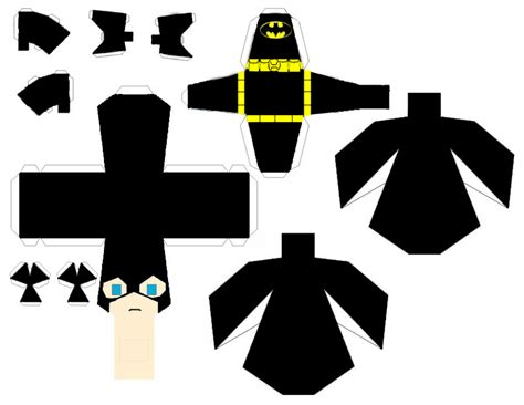Batman Papercraft - batman papercraft pattern pictures to pin on