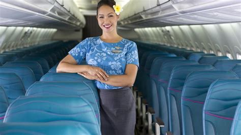 Flight Attendant Hawaii by Hawaiian Airlines Introduces New Interior Cabin Design For Interisland Aircraft Pacific