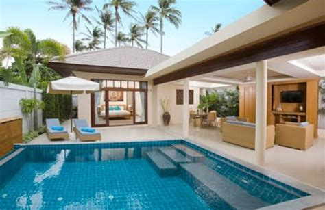 One Bedroom Pool Villa by 2 Bedroom Garden Villa With Pool At Plai Laem Koh