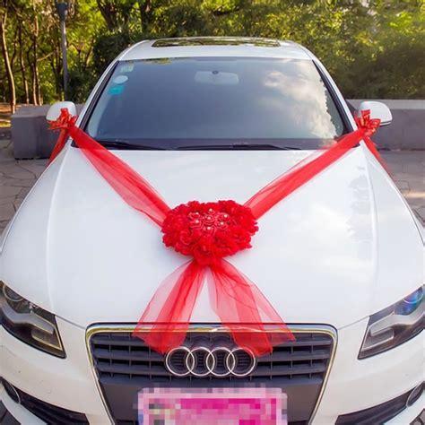 kit decoration voiture mariage decoration mariage voiture