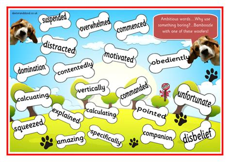 printable vcop games ks2 wow words ambitious vocabulary vcop games and