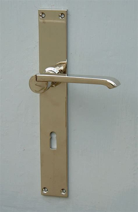 Interior Door Fitting 187 Interior Door Fitting Bauhaus 171 Replicata Material Brass Replikate