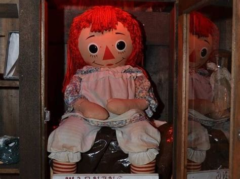 annabelle doll in et annabelle version not as scary as real doll