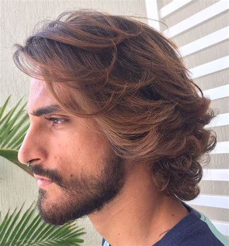 Haircuts For Guys With Medium Hair by Curly Hairstyles For 40 Ideas For Type 2 Type 3 And