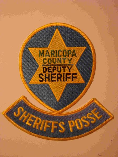maricopa county deputy sheriff sheriff and police patches