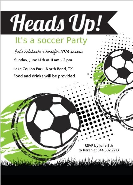 printable soccer invitation templates free printable soccer invitation orderecigsjuice info