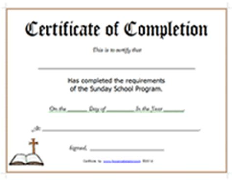 crossing the line certificate template printable sunday school program certificate of completion