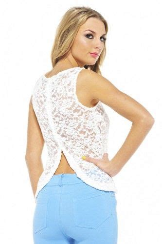 Button Tank Top Dress by Plain Lace Button Back Top Plain White Tank Tops Lace Tops Tops Lace Button