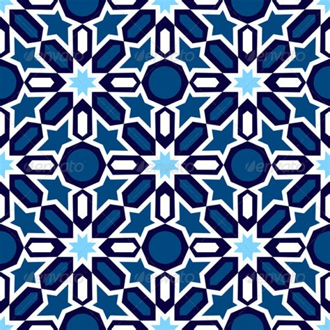 simple islamic pattern vector mosaic in traditional islamic design graphicriver