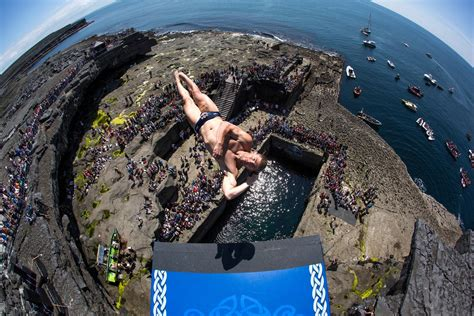 bull cliff dive bull cliff diving ireland 2014 and report