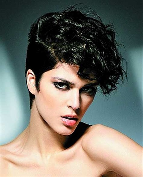 pixie haircut curly hair photos 20 curly asymmetrical pixie hairstyles short hairstyles