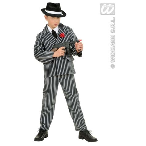 mens gangster costume for 20s 30s mob fancy dress ebay
