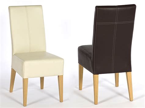 einfache stühle polsterstuhl kunstleder bestseller shop f 252 r m 246 bel und