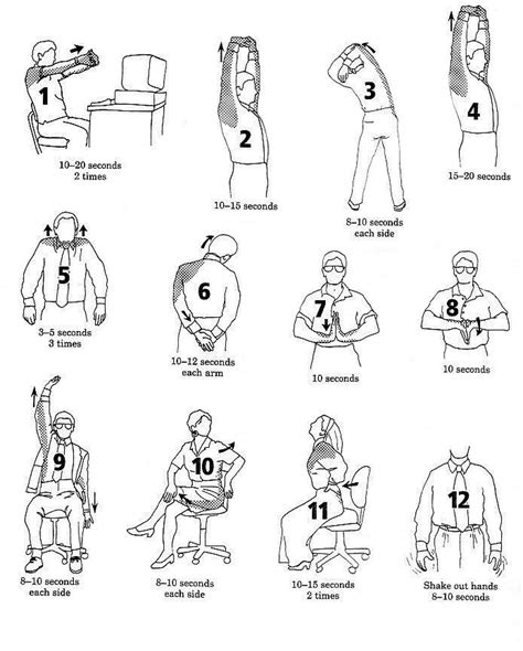 Office Stretches To Do At Your Desk by Exercising At Your Desk Tweakfit
