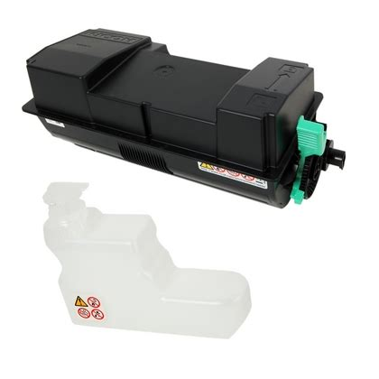 wasted mp ricoh mp 501spf black all in one print cartridge genuine