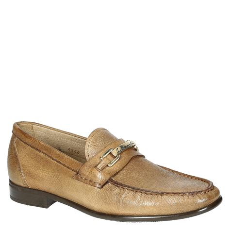 Handmade Loafers - handmade wood grain leather loafers shoes leonardo