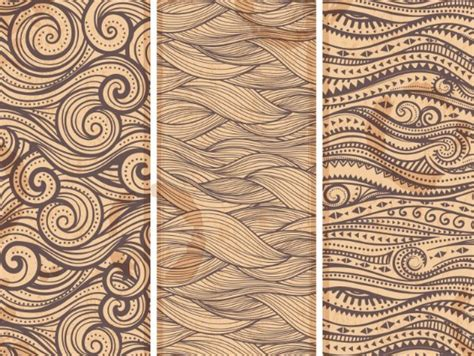 tribal graphic pattern free brown tribal banner set vector titanui