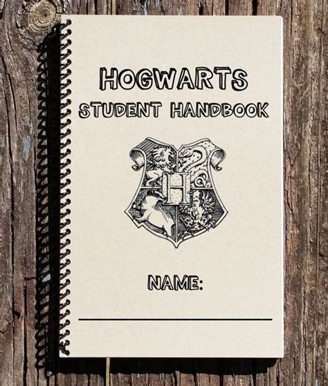 harry potter hogwarts ruled notebook books harry potter inspired notebook harry potter by