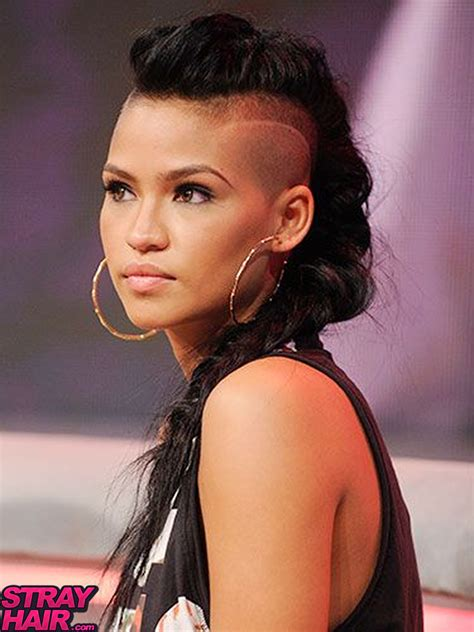 haircut design 1 shaved side hairstyle youtube 50 great cassie hairstyles photos strayhair
