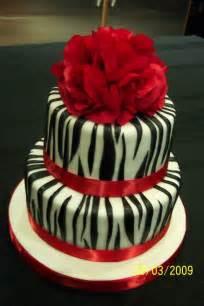 Decorating Ideas Zebra Print Birthday Zebra En Andere Dierenprint Taarten On Zebra