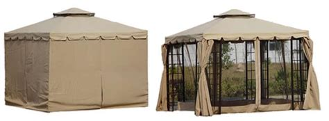 gazebo with mosquito nets and curtains addington luxury metal garden party gazebo with curtains