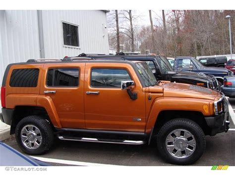 2007 desert orange metallic hummer h3 7969757 gtcarlot car color galleries