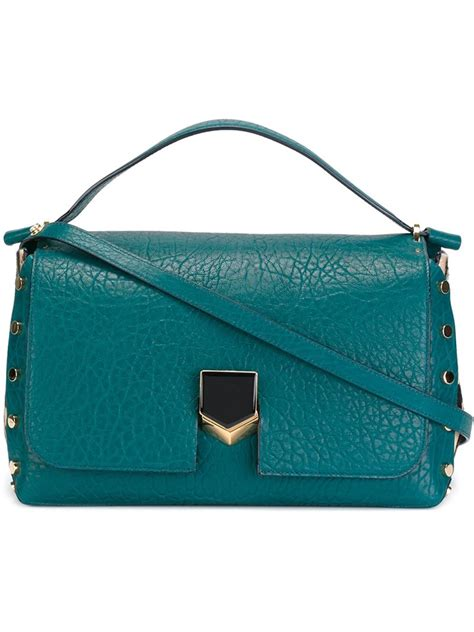 Bag Jimmy Choo Kaos jimmy choo lockett tote bag in blue lyst