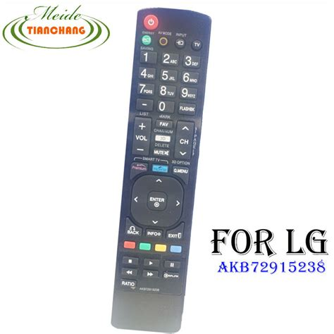 universal remote fit for lg akb72915238