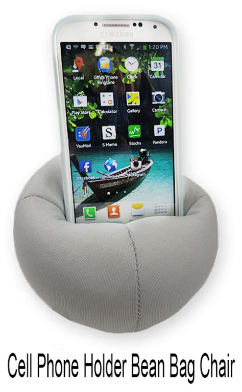 Cell Phone Chair by Cell Phone Holder Bean Bag Chair