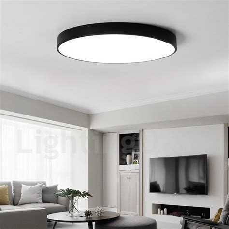 stylish lighting bathroom ceiling lights ultra thin dimmable led modern contemporary nordic style flush mount ceiling lights with