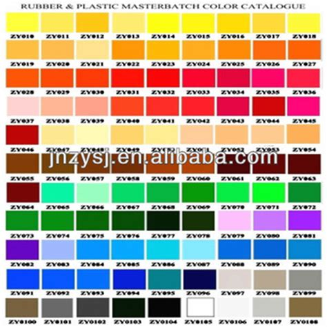 colors for plastics color chart for plastic color granule buy color granule