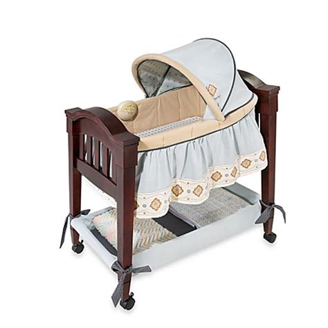 classic comfort wood bassinet carters 174 classic comfort wood bassinet wonder blue