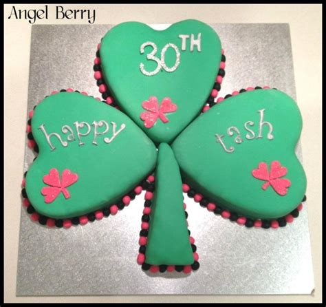 Strawberry Shortcake Birthday Decorations Irish Shamrock Cake Cakecentral Com