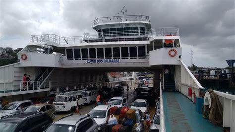 travessia de ferry boat zumbi dos palmares salvador - Ferry Boat Salvador Itaparica