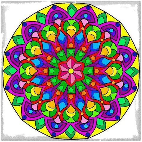 imagenes de mandalas coloridas coloridas archivos dibujos de mandalas