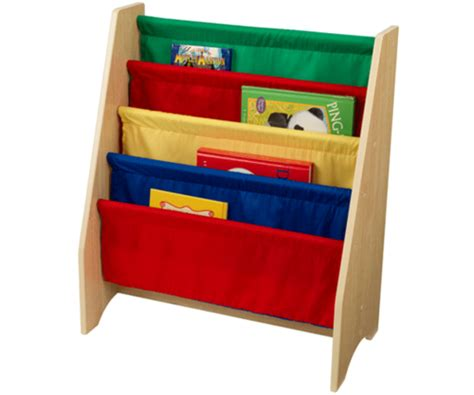 kidkraft sling book shelf children s storage tidy