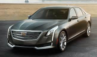 The Cadillac 2016 Cadillac Ct6 Leaked Ahead Of Nyias Debut Autoevolution