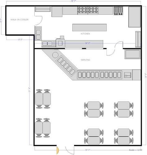 commercial kitchen design plans restaurant kitchen with counter seating floor plan