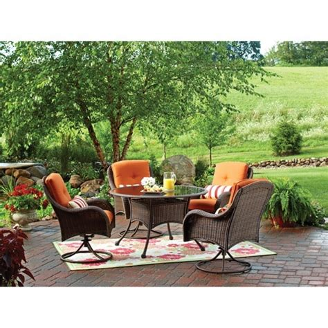 better homes and gardens wicker patio furniture 17 best images about outdoor deck on wicker