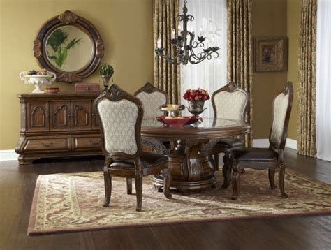 tuscano melange dining room set from aico 34001 34